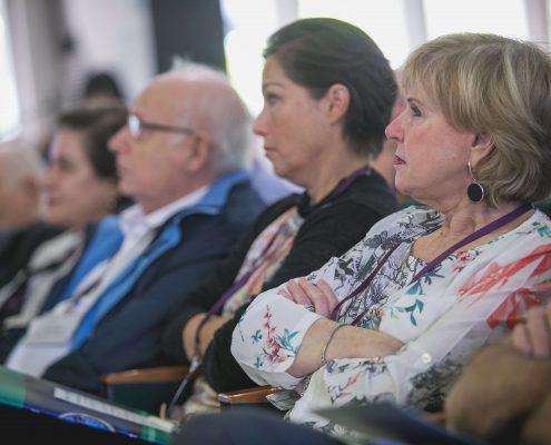 חברי הועד המנהל בכנס השקת מדד השקיפות באתרי התאגידים, מדד ה-TRAC 2017