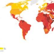 מדד השחיתות בעולם עדכני לשנת 2015