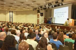 טקס הפתיחה של אירוע מגן השקיפות לשנת 2012