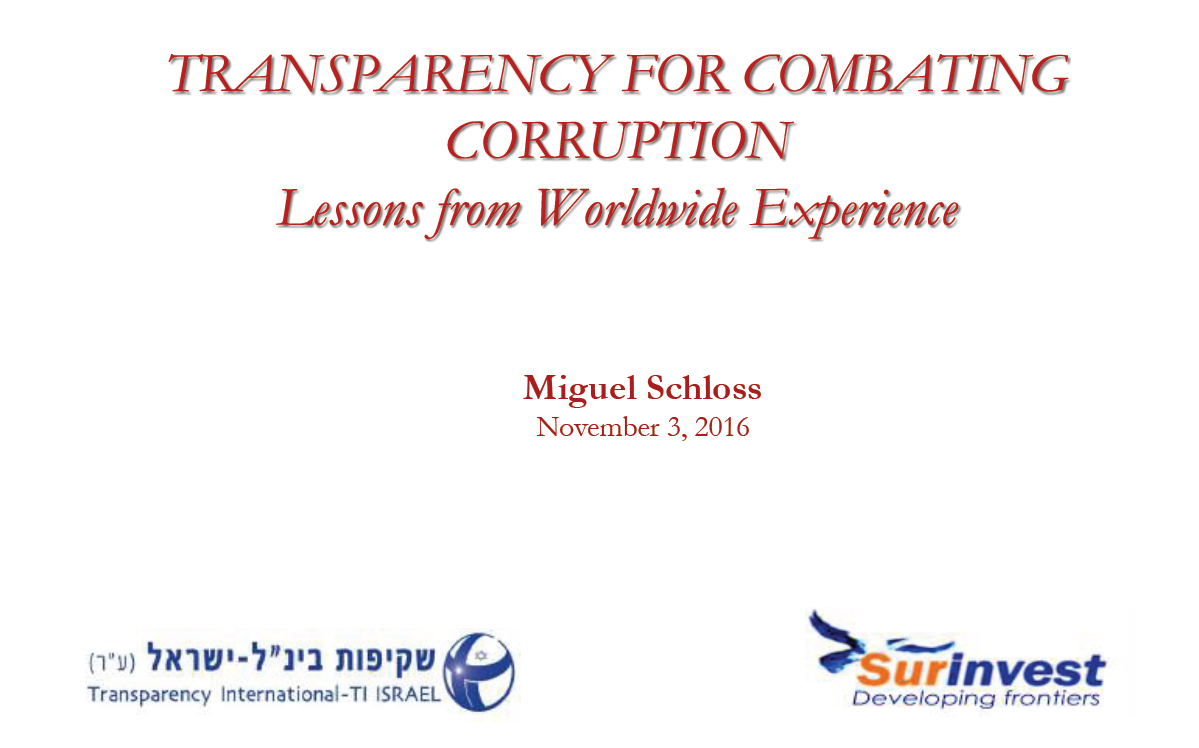 "צילום מתוך מצגת ""Transparency For combating corruption"" של Miguel Schloss"