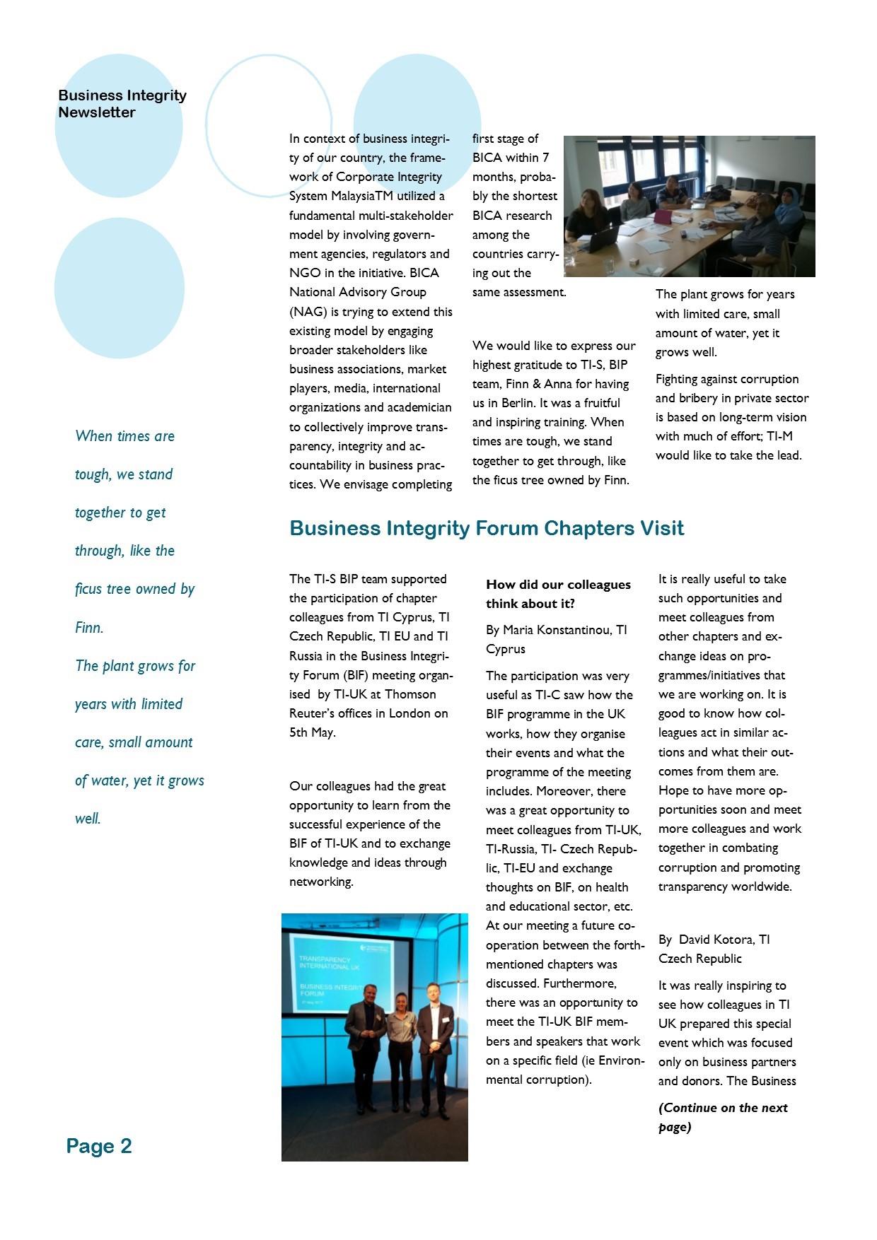 ניוזלטר עסקי יולי 2017 - עמוד 2