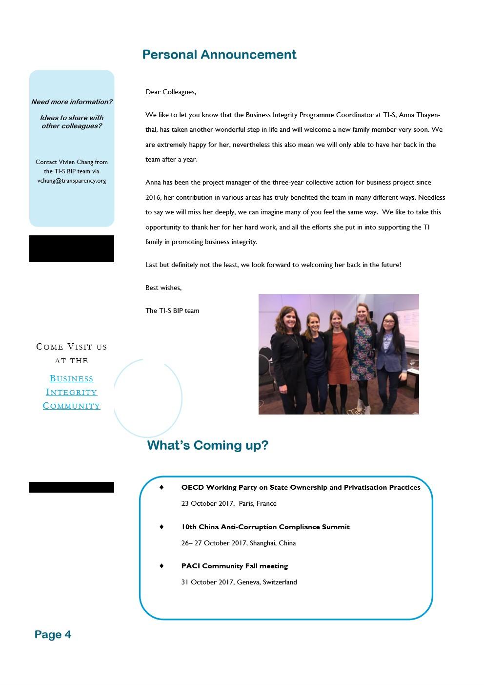 ניוזלטר עסקי לחודש אוקטובר 2017 - עמוד 4