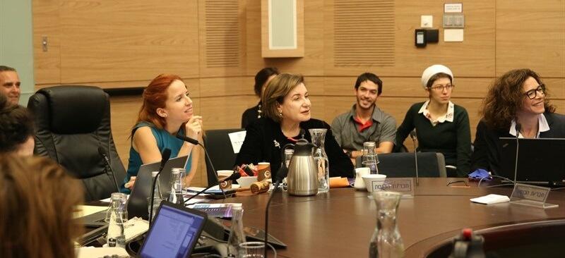 השקת מדד השקיפות בוועדת השקיפות בכנסת, 2017